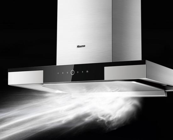 海信厨电吸油烟机 HT701:大吸力、低噪音给你一个洁净无味的厨房