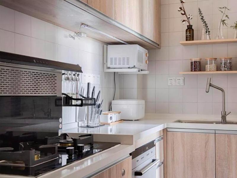 厨房打造高低台 这样做菜更自在
